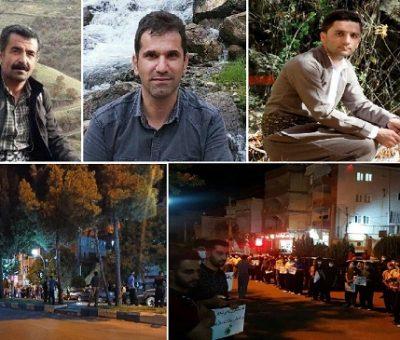 """سه فعال محیط زیست در آتشسوزی منطقه """"مرهخیل"""" پاوه جان باختند"""